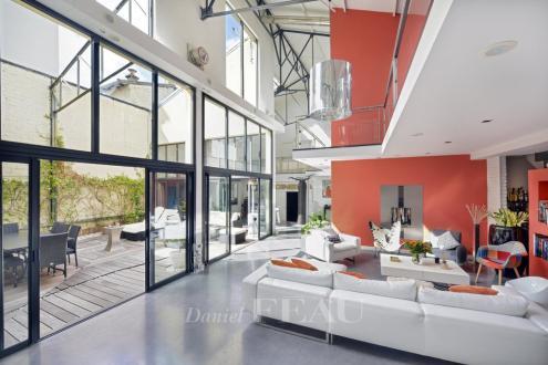 Loft de luxe à vendre ISSY LES MOULINEAUX, 398 m², 5 Chambres, 3960000€