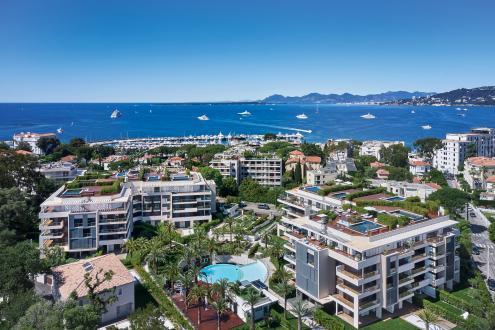 Appartement neuf de luxe à vendre JUAN LES PINS, 190 m², 4 Chambres
