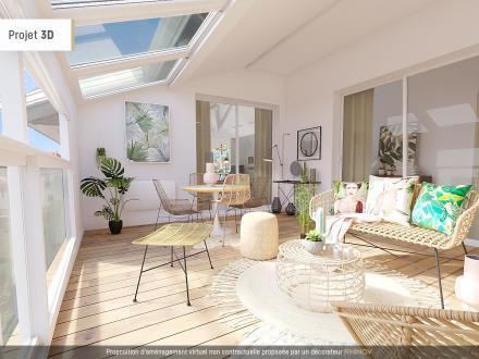 Luxus-Wohnung zu verkaufen BIARRITZ, 140 m², 3 Schlafzimmer, 949000€
