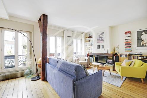 Appartement de luxe à vendre PARIS 11E, 57 m², 2 Chambres, 735000€