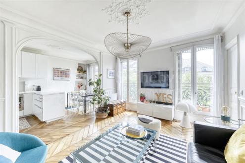 Luxus-Wohnung zu verkaufen PARIS 10E, 67 m², 2 Schlafzimmer, 889000€