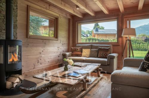 Casale di lusso in affito MEGEVE, 133 m², 3 Camere,