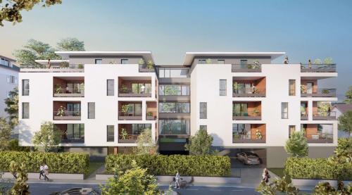 Appartement neuf de luxe à vendre THONON LES BAINS, 90 m², 3 Chambres, 508000€
