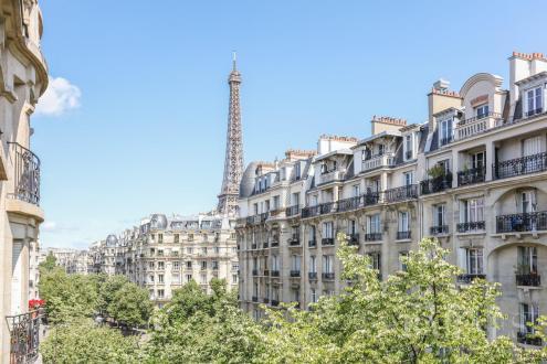 Luxus-Wohnung zu verkaufen PARIS 15E, 124 m², 3 Schlafzimmer, 2200000€