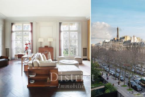 Квартира класса люкс на продажу  Париж 16ый, 250 м², 3 Спальни, 3650000€