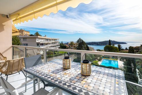Luxury Apartment for rent VILLEFRANCHE SUR MER, 106 m², 3 Bedrooms,