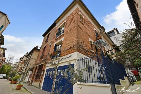 Дом класса люкс на продажу  Париж 13ый, 108 м², 3 Спальни, 1290000€