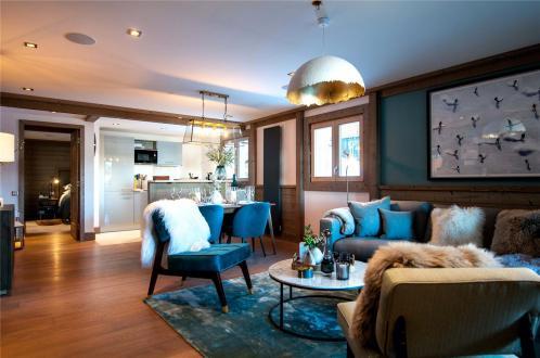 Appartement de luxe à louer COURCHEVEL, 75 m², 2 Chambres,