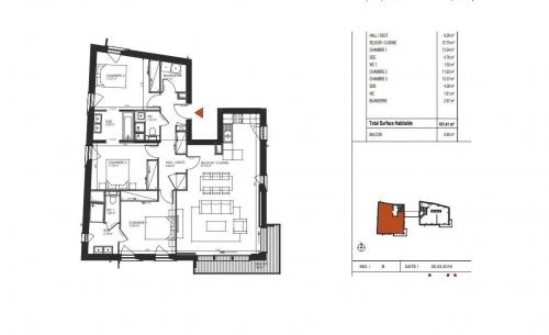 Luxus-Wohnung zu verkaufen CHAMONIX MONT BLANC, 101 m², 1370000€
