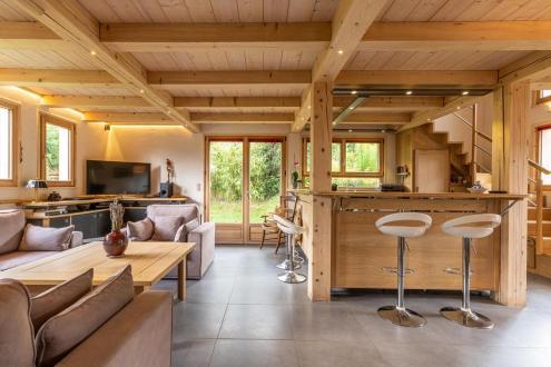 Chalet de luxe à louer CHAMONIX MONT BLANC, 1 m², 3 Chambres,