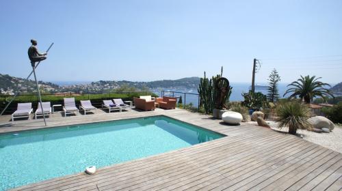 Villa de luxe à louer VILLEFRANCHE SUR MER, 220 m², 4 Chambres, 9000€/mois