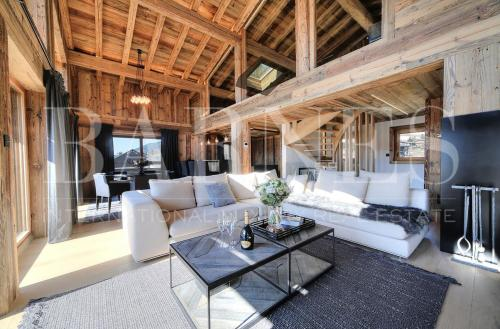 Chalet de luxe à louer MEGEVE, 460 m², 7 Chambres,