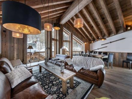 Chalet de luxe à louer VAL D'ISERE, 280 m², 5 Chambres,