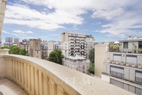 Luxus-Wohnung zu vermieten PARIS 16E, 138 m², 3 Schlafzimmer, 4615€/monat