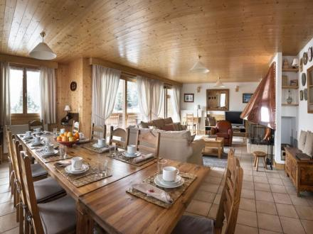 Luxus-Chalet zu vermieten COURCHEVEL, 260 m², 6 Schlafzimmer,