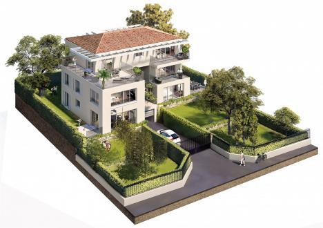 Appartement de luxe à vendre VENCE, 156 m², 4 Chambres, 1049000€