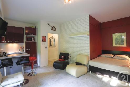 Квартира класса люкс в аренду Ницца, 26 м², 670€/месяц
