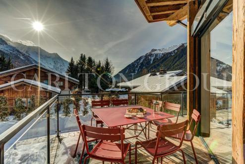 Chalet de luxe à louer CHAMONIX MONT BLANC, 260 m², 5 Chambres,