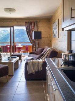 Luxus-Wohnung zu vermieten MONTVALEZAN, 70 m², 3 Schlafzimmer,