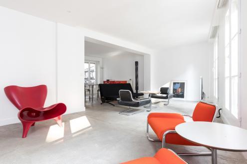 Luxus-Wohnung zu vermieten PARIS 4E, 105 m², 2 Schlafzimmer