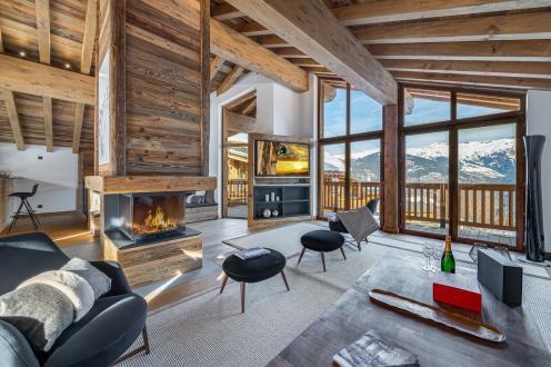 Luxus-Chalet zu verkaufen COURCHEVEL, 349 m², 5 Schlafzimmer