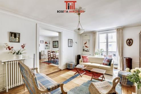 Appartement de luxe à vendre PARIS 7E, 122 m², 4 Chambres, 2100000€