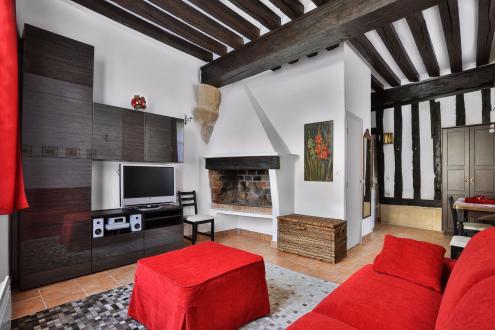 Luxus-Wohnung zu vermieten PARIS 4E, 26 m², 1550€/monat