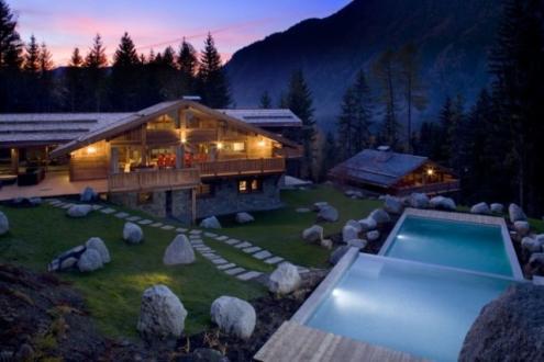 Chalet de luxe à louer CHAMONIX MONT BLANC, 463 m², 5 Chambres,