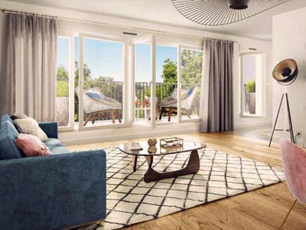 Appartement de luxe à vendre ISSY LES MOULINEAUX, 105 m², 3 Chambres, 1245000€