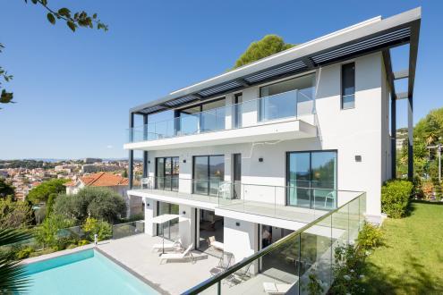 Casa di lusso in affito LE CANNET, 450 m², 6 Camere,