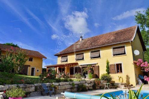 Luxus-Haus zu verkaufen SERMERIEU, 189 m², 6 Schlafzimmer, 1150000€