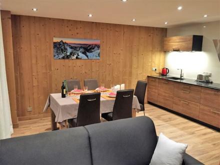 Luxus-Wohnung zu vermieten MERIBEL LES ALLUES, 48 m², 1 Schlafzimmer,