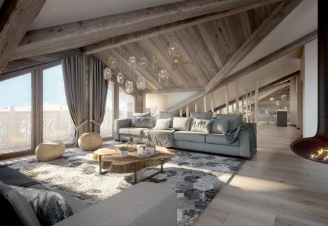 Appartement neuf de luxe à vendre COURCHEVEL, 134 m², 3 Chambres
