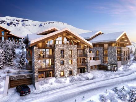Appartement neuf de luxe à vendre VAL D'ISERE, 102 m², 3 Chambres, 2795000€