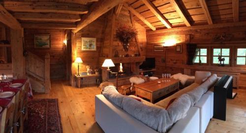 Luxus-Chalet zu vermieten MEGEVE, 5 Schlafzimmer,