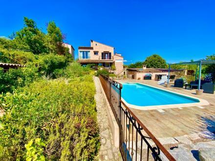 Villa de luxe à vendre MOUANS SARTOUX, 188 m², 4 Chambres, 629000€