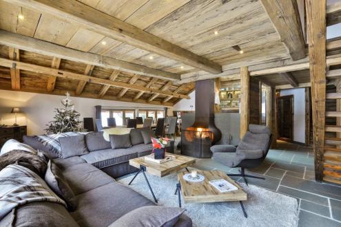 Luxus-Chalet zu vermieten CHAMONIX MONT BLANC, 1 m², 4 Schlafzimmer,