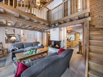 Casale di lusso in affito COURCHEVEL, 360 m², 6 Camere,