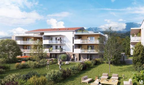 Appartement neuf de luxe à vendre SAINT ISMIER, 142 m², 4 Chambres, 585000€