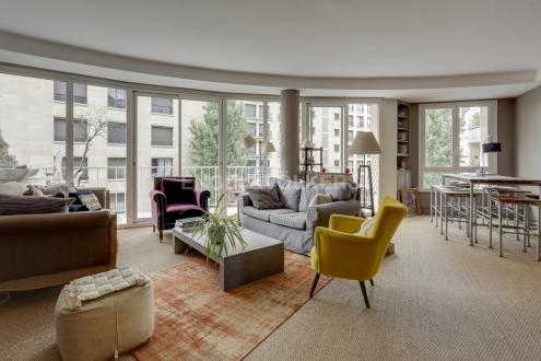 Квартира класса люкс на продажу  Париж 16ый, 95 м², 2 Спальни, 1277000€