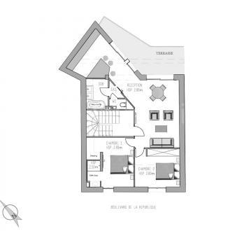 Luxury Apartment for sale AIX EN PROVENCE, 78 m², 2 Bedrooms, €599000