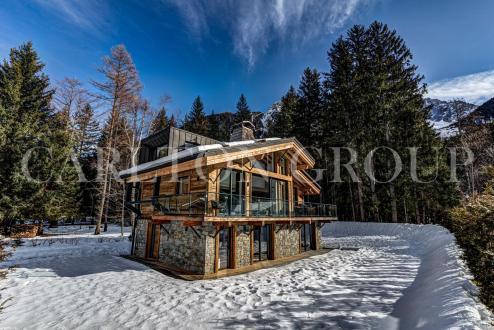 Chalet de luxe à louer CHAMONIX MONT BLANC, 364 m², 5 Chambres,