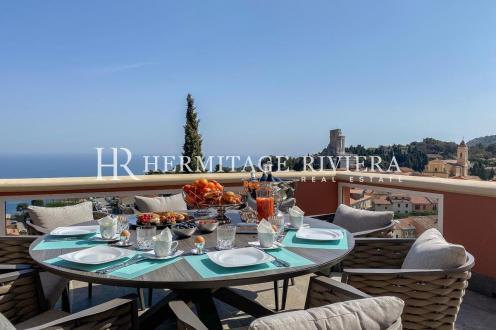 Luxury House for rent LA TURBIE, 340 m², 4 Bedrooms,