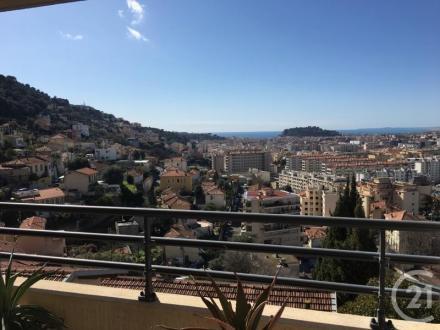 Luxus-Wohnung zu vermieten Nizza, 64 m², 2 Schlafzimmer, 1400€/monat