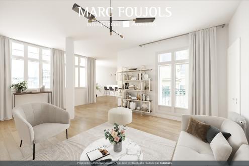 Luxus-Wohnung zu verkaufen PARIS 16E, 133 m², 3 Schlafzimmer, 2000000€