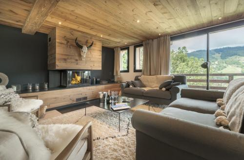 Luxus-Chalet zu vermieten MEGEVE, 220 m², 4 Schlafzimmer,