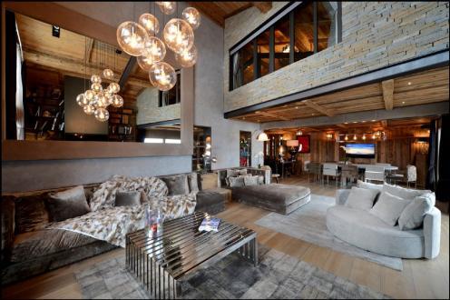 Luxury Chalet for rent MEGEVE, 500 m², 7 Bedrooms,