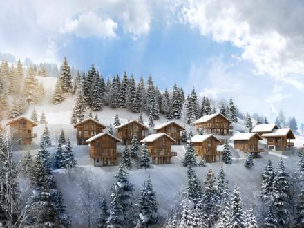 Luxus-Chalet zu verkaufen CREST VOLAND, 104 m², 4 Schlafzimmer, 699900€