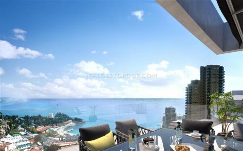 Appartement de luxe à vendre ROQUEBRUNE CAP MARTIN, 80 m², 3 Chambres, 1250000€