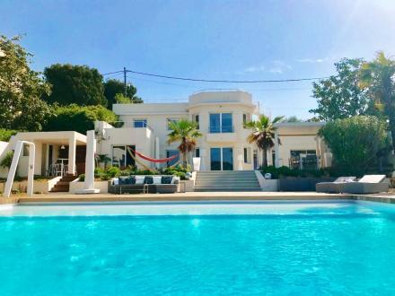 Luxus-Haus zu vermieten CAP D'ANTIBES, 275 m², 6 Schlafzimmer,